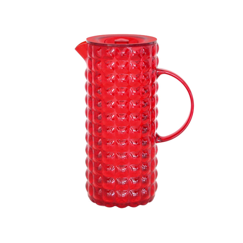 Guzzini Caraffa in plastica 1 75l Rosso Tiffany Accessori per cucina ...