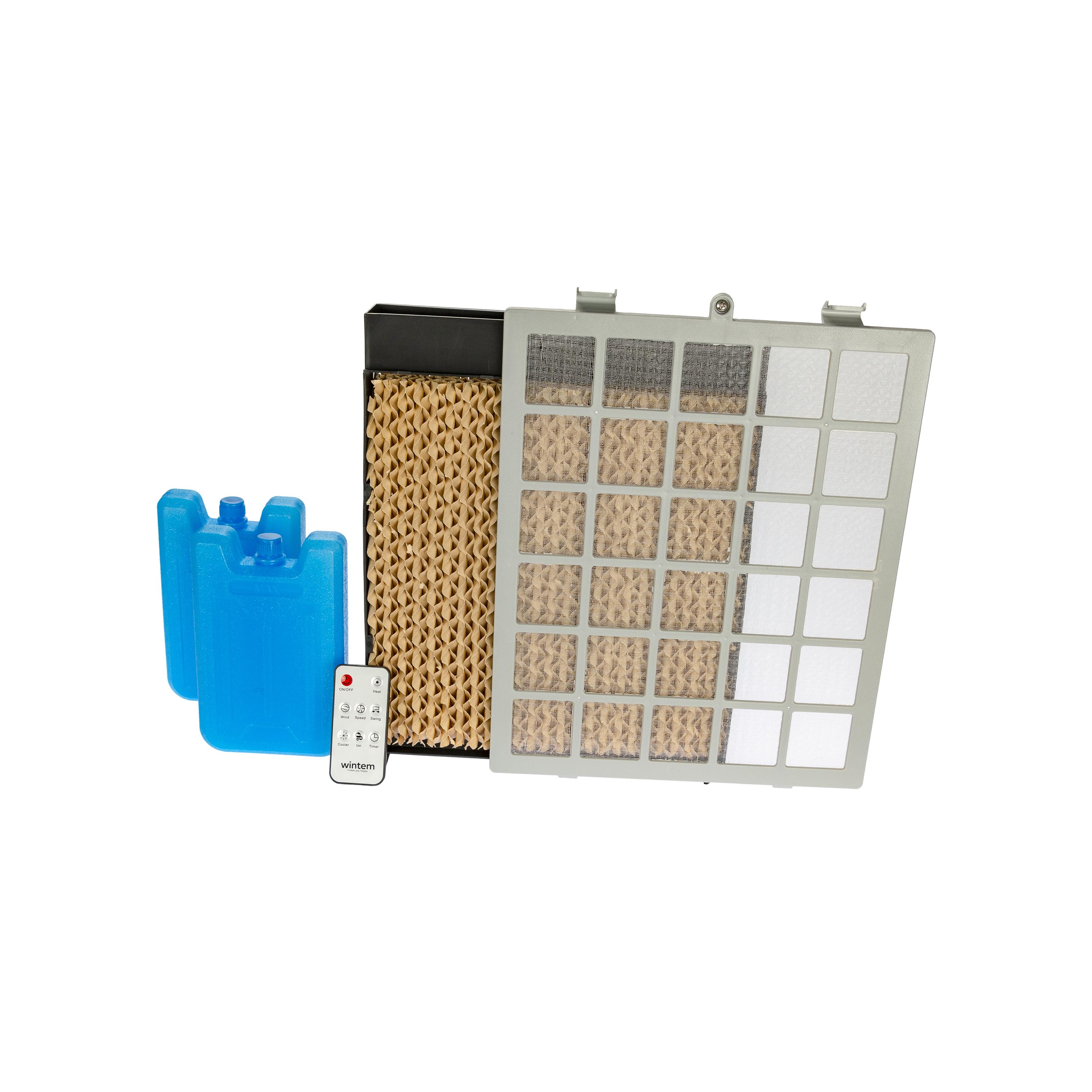 Horus Climatizzatore Portatile 2000 Watt Raffrescatore Aria Calda Fredda Wintem 10