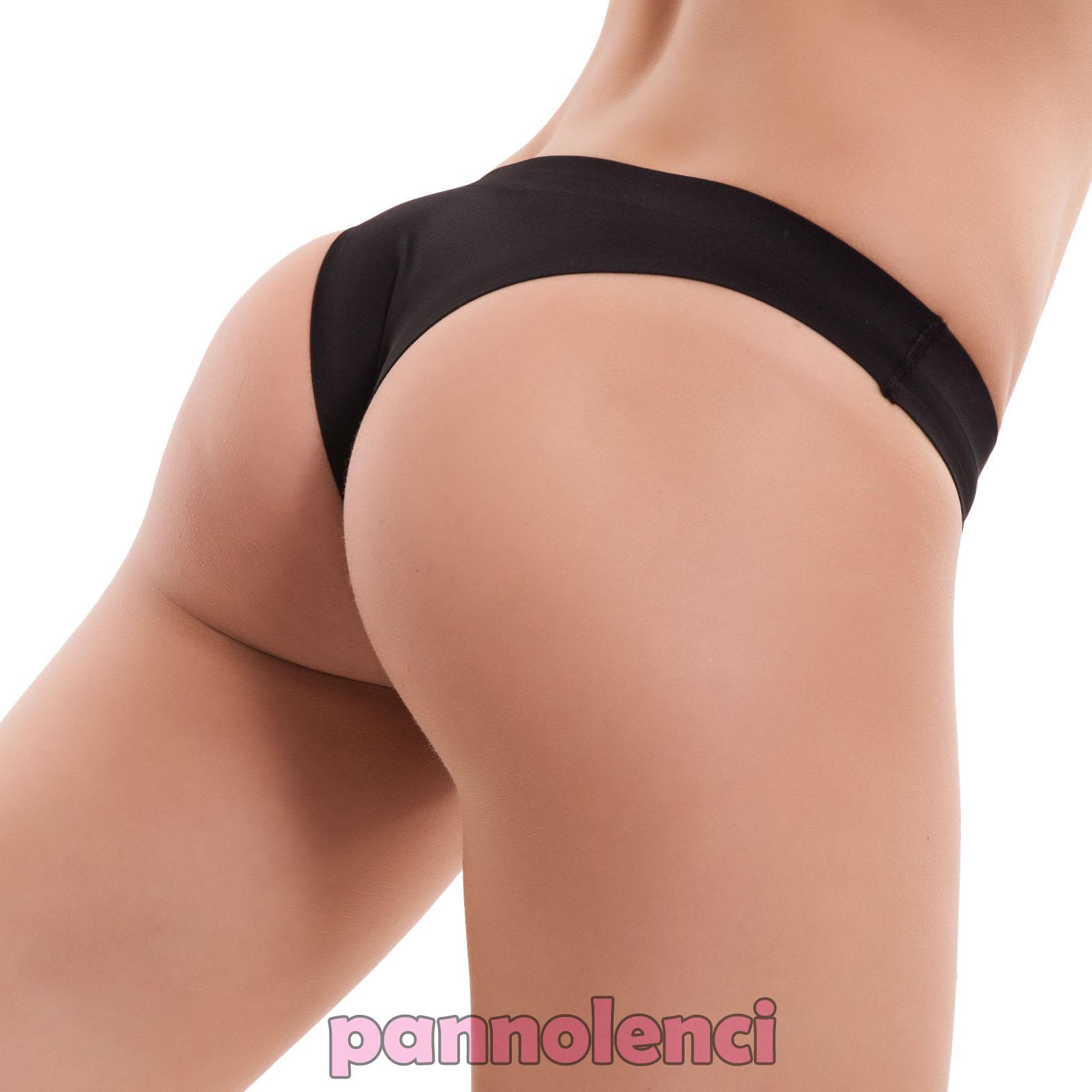 grande vendita scarpe da ginnastica i più votati più recenti Dettagli su Slip donna brasiliana perizoma liscio basic intimo lingerie no  segni nuovi HC-02